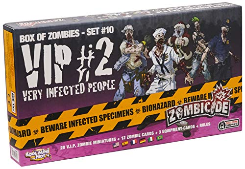 Cool Mini or Not GUG0069 - Zombicide Season 3: Very Infected People 2