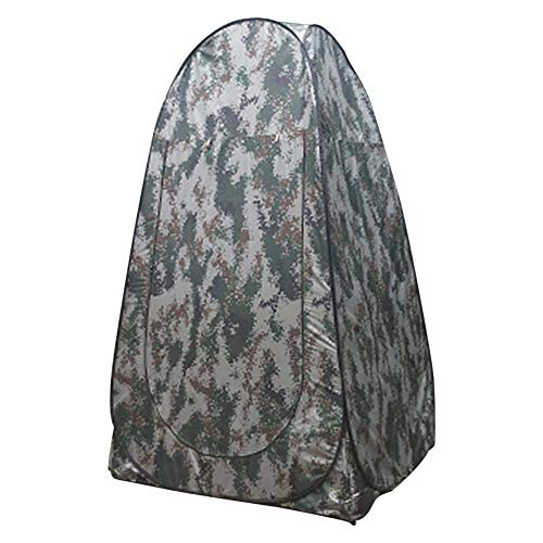 Urinal Camping Shower Tent Portable Toilet, Pop Up Pod Changing Room Privacy Tent Lightweight & Sturdy Easy Set Up Instant Portable Outdoor Shower Tent Camp Toilet Rain Shelter for Camping & Beach