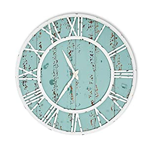 514AW2kf6LL._SS300_ Coastal Wall Clocks & Beach Wall Clocks