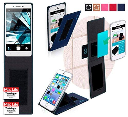 Hülle für Oppo Mirror 5s Tasche Cover Hülle Bumper | Blau | Testsieger