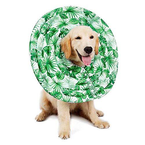 leegoal Collares Isabelinos para Mascotas, Recuperación de la Máscara Protectora del Perro Collar de Recuperación del Perro Impermeable del Collar