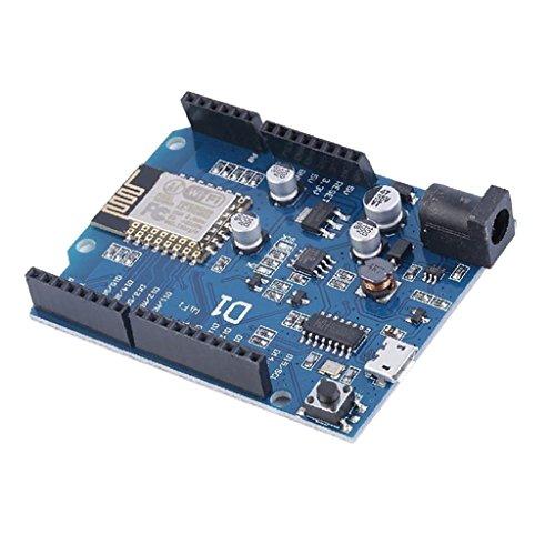Wemos D1 R2 Ultimo Esp-12e Scheda Wifi Esp8266 per Arduino Ide Uno Blu