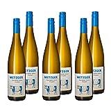 Weingut Uli Metzger - Sauvignon Blanc 2019 | Trockener Weißwein aus Deutschland (6x0,75 l)