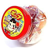 不二家 ペコちゃんポップキャンデー容器入り25本入り×6ポット