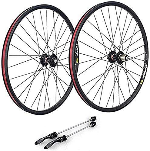 Juego de ruedas de bicicleta de montaña de 29 pulgadas, llantas de aleación de doble pared Juego de ruedas de bicicleta de carretera de liberación rápida Freno de disco 7 8 9 10 velocidades 32H Ruedas