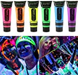 HK balloons UV Blacklight Reactive Glow Neon Fluorescent Face and Body Paint