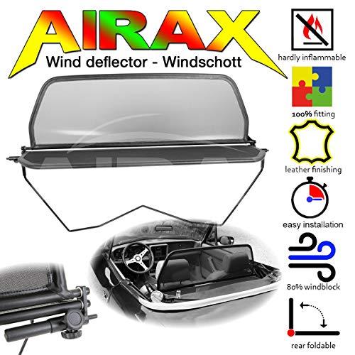 Airax Windschott für 124 Spider Windabweiser Windscherm Windstop Wind deflector déflecteur de vent