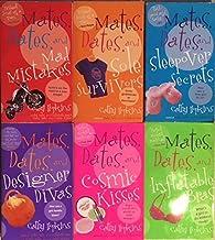 Mates, Dates - 6 Book Set - Inflatable Bras - Cosmic Kisses - Designer Divas - Sleepover Secrets - Sole Survivors - Mad Mi...