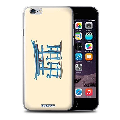 Beschermhoesje voor Apple iPhone 6S, motief: Torii-deur, Japans design