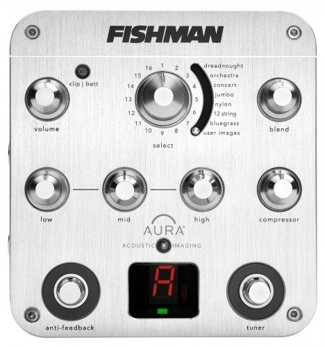Fishman Aura Spectrum DI 並行輸入品