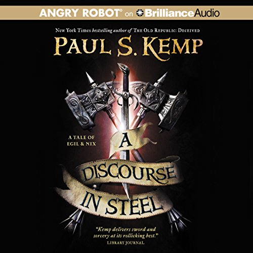 A Discourse in Steel audiobook cover art
