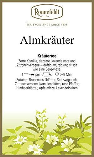 Ronnefeldt - Almkräuter - Kräutertee - 100g
