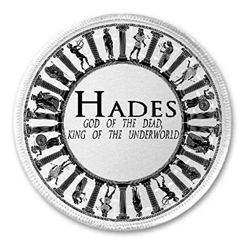 Hades God of Dead King of Underworld - 3' Sew/Iron On Patch Mythology Greek