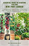 Essential Guide to Starting Your Own Mini Fruit Garden: A Simple Beginners Manual to Learning All You Need to Know to Successfully Start Growing a Small ... or a Gardening Project (English Edition)