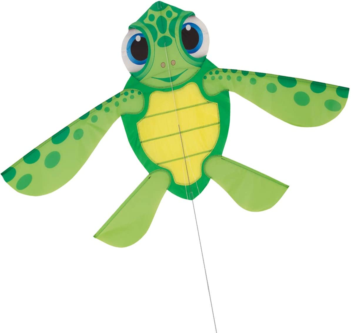 CHIPMUNKK Sea Turtle Easy OFFicial site to Fly Kids Kite Nylon for Max 56% OFF and Adults