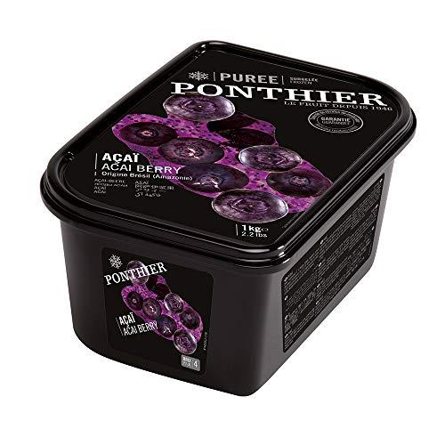 Acai Berry Puree, Frozen, Ponthier, 1kg