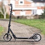 VICI Glide Patinete Adulto – Scooter Plegable con Manillar Ajustable, Frenos y Suspensión Doble | 2 Patinetes 2 Ruedas | Kickscooter Carga Máxima 100kg (Patinete + Casco M)