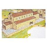 Santiago De Compostela Th Century - Rompecabezas para adultos, 500 piezas para niños, juguetes de juego de regalo para niños y niñas, 38 x 50 cm