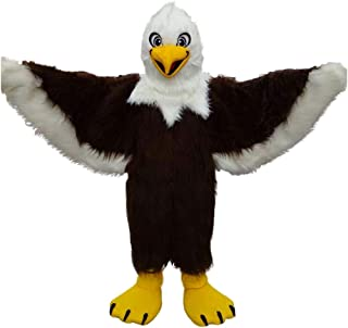 Eagle Mascot Costume Cartoon Fancy Party Cosplay Dress Performance Suit Adult