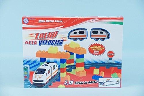 Globo Toys 35716 Vitamina _ G Train avec Son et des Briques (Lot de 50)