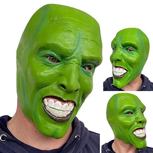 Rubber Johnnies 'La Máscara' Máscara De Látex Verde Jim