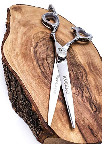 "KAMISORI Diablo Professional Haircutting Shears (5.0"", Shear)"