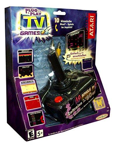 Consola Retro Arcade Nano Plug & Play Atari, Incluye 10 Juegos