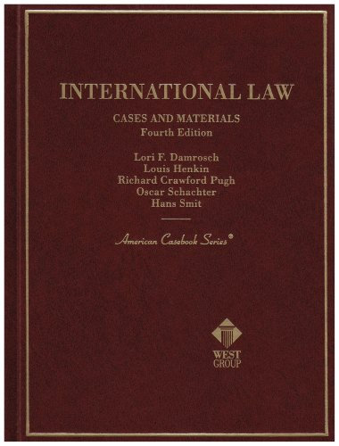 International Law Cases and Materials (American Casebook Series)