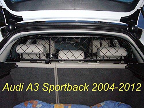 ERGOTECH Trennnetz Trenngitter Hundenetz Hundegitter für Audi A3 Sportback bis 2012