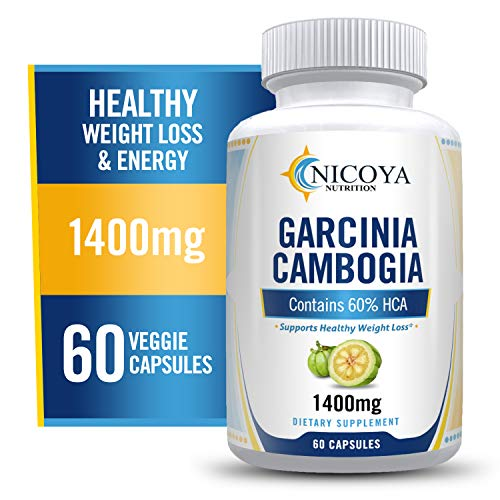 All Natural Garcinia Cambogia with HCA for Fast Fat Burn. Appetite Suppressant & Carb Blocker. Natural, Clinically Proven Weight Loss Supplement. Best Garcinia Cambogia Diet Pills.