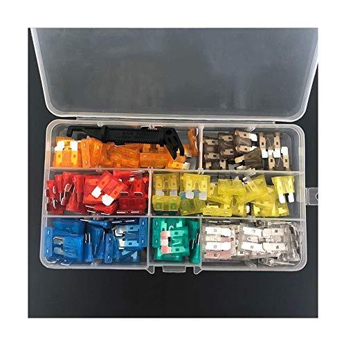 Queenback Autozekeringen, verschillende standaardsets, 5, 7, 5, 10, 15, 20, 25, 30 amp, 121 stuks