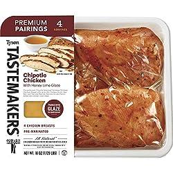 Tyson Tastemakers Premium Pairings Chipotle Chicken with Honey Lime Glaze, 18 oz, Serves 4