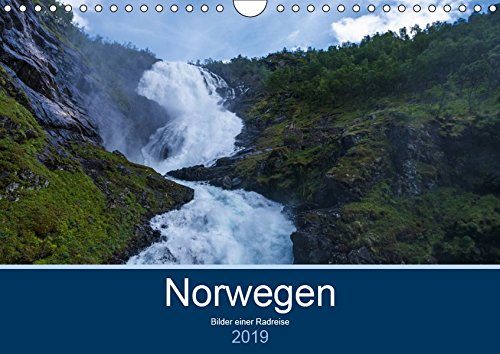Norwegen 2019 - Bilder einer Radreise (Wandkalender 2019 DIN A4 quer): Bilder einer Radreise durch Norwegen mit GPS Koordinaten auf der Indexseite (Monatskalender, 14 Seiten ) (CALVENDO Orte)