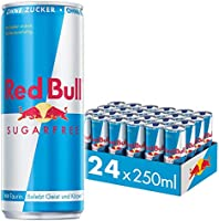Red Bull Sugarfree Energy Drink, 24pk, Disposable (24 x 250 Ml)