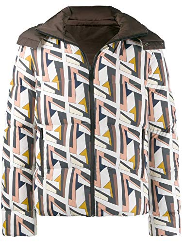 Fendi Fashion Mens FAA582A9QCF07EZ Multi kleuren jas | Herfst-Winter 19