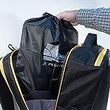 Peugeot 250307Performer mochila técnica de poliéster para taladro/zapatos, gris, 27L