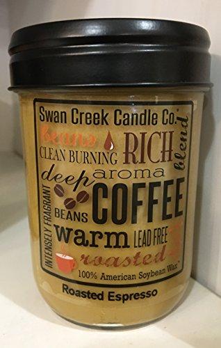 Swan Creek Candles Roasted Espresso 12 Oz
