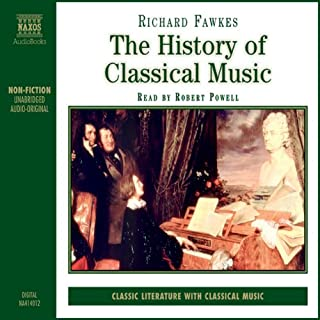 The History of Classical Music audiobook cover art