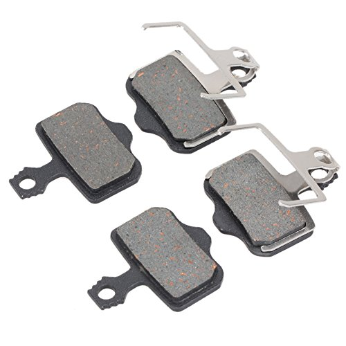 Demiawaking 2 Paar Fahrrad Bremsbeläge Disc für AVID Elixir E1/3/5/7/9 ER/CR SRAM