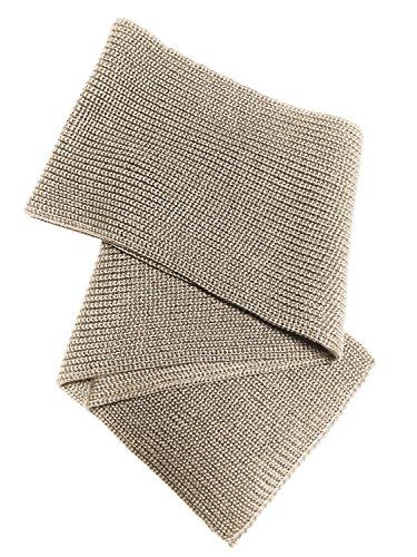 Blauer Peter - Troyer - Sciarpa a maglia - Merino - 8 Colori, Colore:Beige-screziato