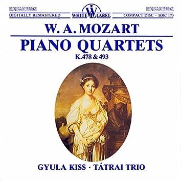 Mozart: Piano Quartets K. 478 & 493