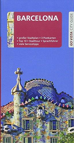 GO VISTA: Reiseführer Barcelona: Mit Faltkarte und 3 Postkarten