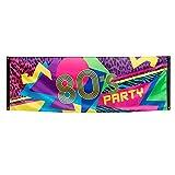 Boland 44602 - Pancarta años 80 Multicolor