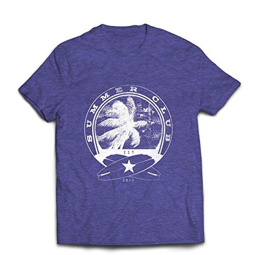 lepni.me mannen T-shirt zomerclub - surfen - surfkleding - strandvakantie, zomer vakantieoutfits