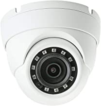 HDView 2.4MP HD 4-in-1 (TVI/AHD/CVI/960H) Dome Camera 1080P Indoor Outdoor 2.8mm Wide Angle Fixed Lens Weatherproof Infrared Night Vision