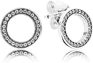 290585CZ Forever Pandora Stud Earrings