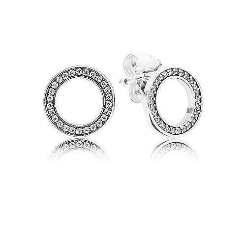 f268ab765 Pandora Women Silver Stud Earrings - 290585CZ