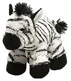 Wild Republic Zebra Plush, Stuffed Animal, Plush Toy, Gifts for Kids, Hug'Ems 7'