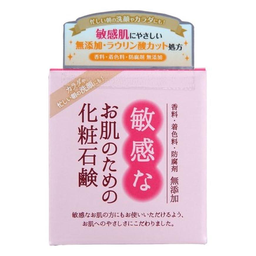 容器最小アクロバット敏感なお肌のための化粧石鹸 100g CBH-S