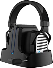 XIBERIA G02 Wireless Gaming Headset for PS5, PS4, PC, Noise Cancelling Over Ear Gaming Headphones with Mic, 2.4GHz Ultra-Low Latency, Soft Memory Earmuffs, Wired Mode for Xbox One, Xbox Series X Games
